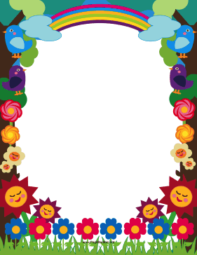 Pics For gt Cute Borders Word Documents