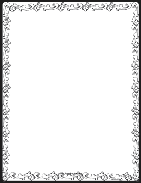 It's just an image of Persnickety Free Printable Page Borders