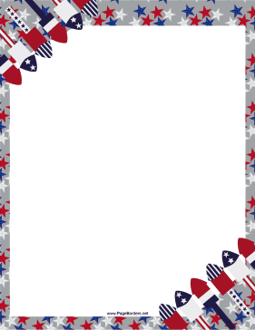July 4th party template word