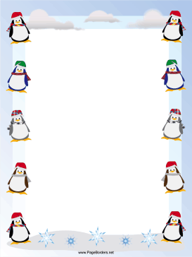 ... decorate this free printable christmas border download free version