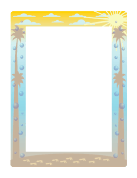 Pics Photos - Summer Border Vector 373201 By Elaineitalia