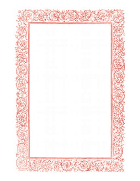Style Page Borders http://www.pageborders.net/preview/Victorian_Vines_Red_Border