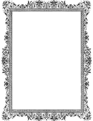 Antique BW Border