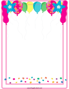 Balloon Border